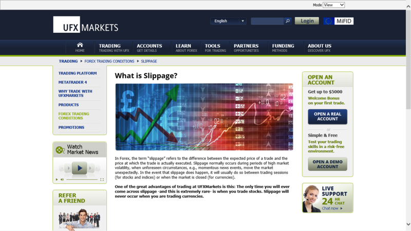 Forex slippage meaning