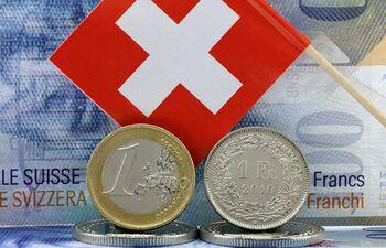 1 chf in eur:
